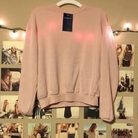 Brandy Melville Blush Orlena Sweater