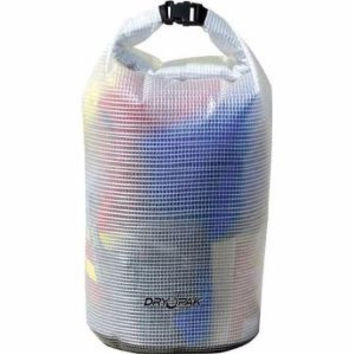 Dry Pak Roll Top Dry Bags Clear