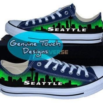 ICIKGQ8 hand painted converse seattle skyline space needle custom converse birthday gifts