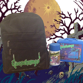 Goosebumps Backpack/Lunchbox Set