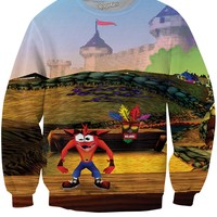 Crash Bandicoot Sweatshirt