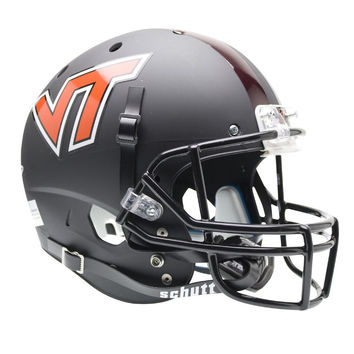 Virginia Tech Hokies NCAA Replica Air XP Full Size Helmet (Alternate Black 1)