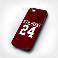 Teen Wolf STILINSKI - Photo print on hard plastic-iphone 4/4s case-iphone 5/5s/5c case-samsung galaxy s3 case-samsung galaxy s4 case