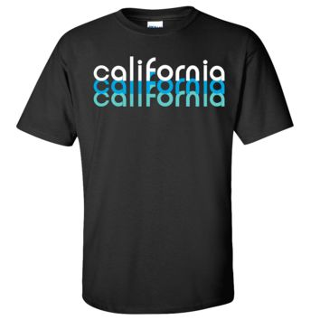 California Cool Stacked Asst Colors T-shirt/tee