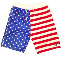 Men's American Flag Swim Trunks