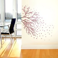 Cherry Blossom Branch Wall Decal - Medium