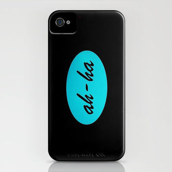 Ah ha iPhone Case by Sylvia Cook Photography | Society6
