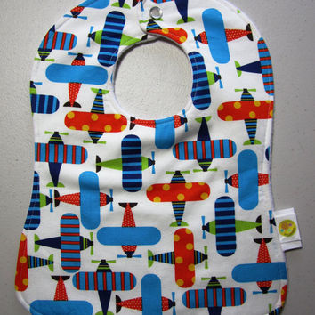 Baby Bib  Doublesided Snap Bib  Ann Kelle Ready by adrisadorables