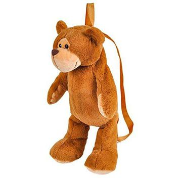 "Wildlife Tree Kids 20"" Animal Backpack - Soft Stuffed Animal Mini Plush Backpack"