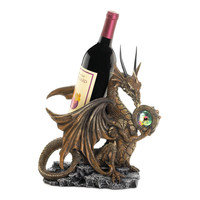 Medieval Dragon Wine Bottle Holder