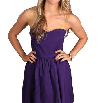 The Savannah Dress in Purple by Lauren James - FINAL SALE