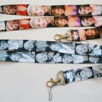 2 Marilyn Monroe Lanyard Key Chain Holder Set