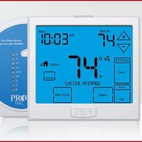 Pro1 IAQ Model T955WH Touchscreen Wireless Thermostat Kit With Humidity Control