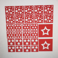 Star Nail Decals and Stencils