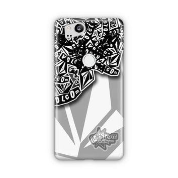 Volcom Inc Apparel And Clothing Stickerbomb Google Pixel 3 Case | Casefantasy