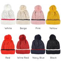Stylish Skullies Beanie Knitted Hat for Women