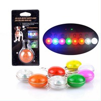 Dog Led Glow Color Tag Night Safety