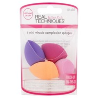 Real Techniques Mini Miracle Complexion Makeup Blender Sponges (4 Count) - Walmart.com