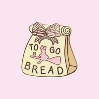 Kiki's Bread Pin