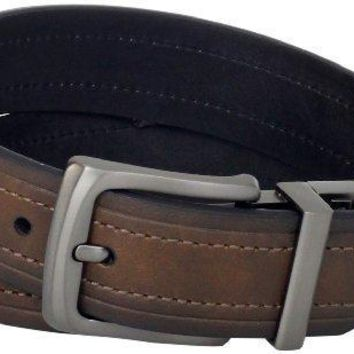Levi's Men's Leather Reversible Belt (With Big & Tall Sizes)