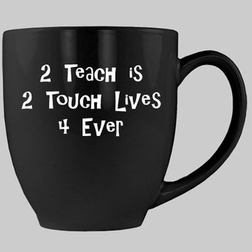Coffee First and ITeach coffee Mugs in sets of 4 with 5th cup FREE.