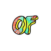 AWESOME DONUT STICKER – Odd Future