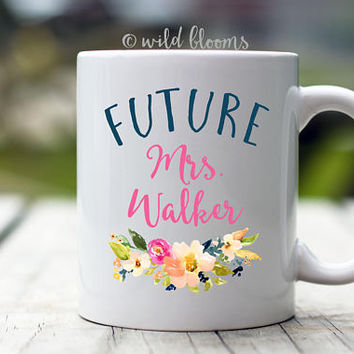 Future Mrs. Mug | Future Mrs | Personalized Bride Gift Wedding Mug Bride Mug Bride gift Engagement gift Does this ring make me look engaged