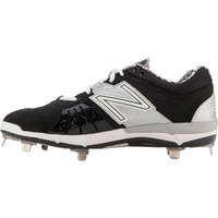 New Balance 3000v2 Metal Cleats Low-Cut - Black Silver