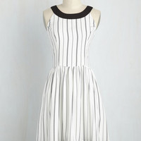 Day In and Date Out Dress in Stripes | Mod Retro Vintage Dresses | ModCloth.com