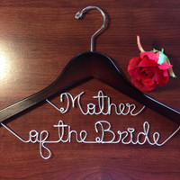 Personalized Date on top bridal hanger, personalized custom Bridal, Brides Hanger, Wedding Hanger, Personalized Bridal Gift.