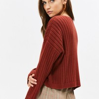 LA Hearts Chunky Ribbed Boxy Sweater at PacSun.com