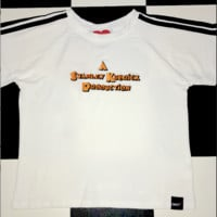 SWEET LORD O'MIGHTY! A STANLEY KUBRICK CROP TEE IN WHITE