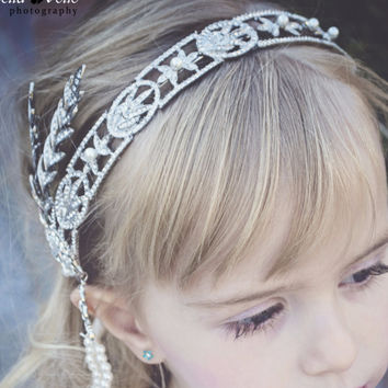 Great Gatsby Inspitred Girls Womens Headpiece Photography Photoshoot