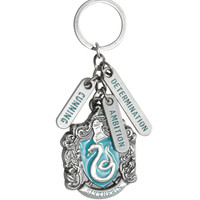 Harry Potter Slytherin Charm Crest Key Chain