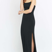 Silence + Noise Posh Knitted Maxi Dress - Urban Outfitters