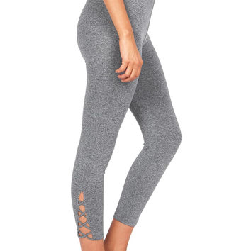 X Cut Capri Leggings