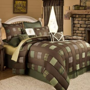 Cabela's Barnwood Patch Comforter Set