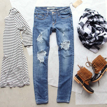 The Soft & Worn Jeans