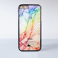 Cracked Out Plastic Case Cover for Apple iPhone 6 6 Plus 4 4s 5 5s 5c