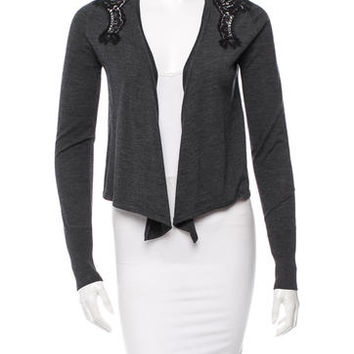 Dolce & Gabbana Lace-Trimmed Cardigan