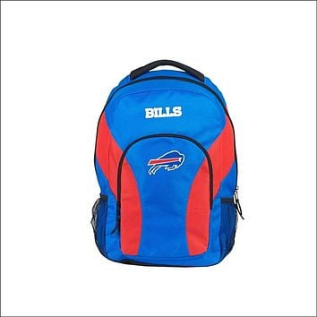 """Bills OFFICIAL National Football League, """"""""Draft Day"""""""" 18""""""""H x 10"""""""" (12"""""""" Back) Backpack  by The Northwest Company"""
