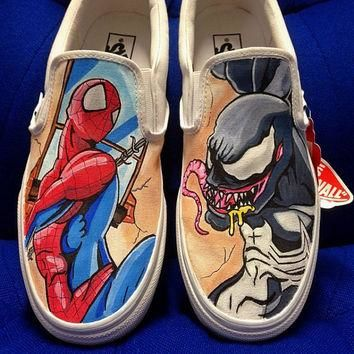 Custom Vans Converse Shoes All Designs