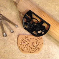 3D Printed Octopus cookie cutter