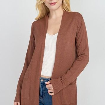 Classic Statement Cardigan - Ginger