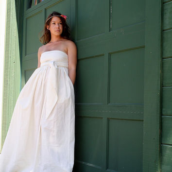 Country Love Wedding Gown by whiteromance on Etsy