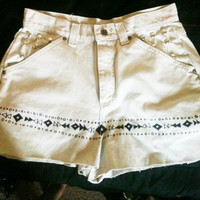 Off To the Beach Tribal Tan ULTRA limited Edition High Waisted Shorts
