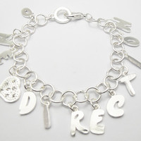 1D One Direction Charm Bracelet & Harry's airplane Necklace. Free Bracelet with 25.00 purchase. Free Holiday Gift Wrap