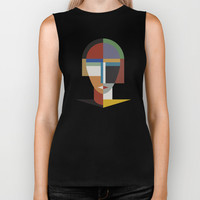 WOMEN AND WOMAN Biker Tank by THE USUAL DESIGNERS