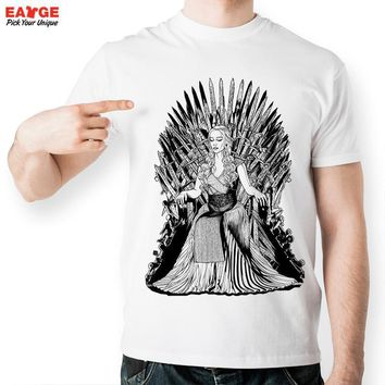 Winter is Coming T shirt Mother Of Dragon Iron Throne Shirt Dragon Queen Mhysa Dragon Queen T Shirts Game of Thrones 2017 Shirts