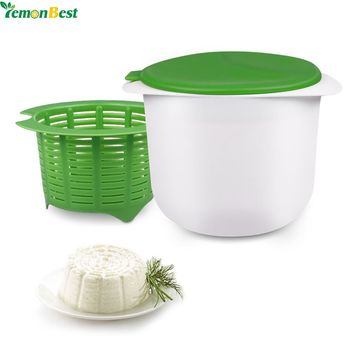 Microwave Cheese Maker Safe Healthy For Making Cheese Contains Recipes Home Cooking Kitchen Dessert Pastry Pie Tool